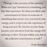 energy the currency of the universe