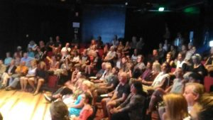 Audience at NDEs Soul Encoded Activations Presentation