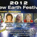 Speaking at the New Earth Festival