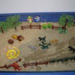 image of sandplay therapy
