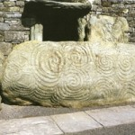 Image of tri spiral for changing energies at Newgrange