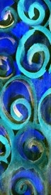Bookmark of Spirals Contemporary Art Image