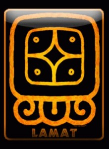 mayan calendar - 1 Lamat