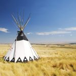 teepee for shamanic journey led by paullina howfield