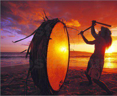 the shaman's drum