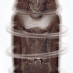 Egyptian statue starts to move of its own accord