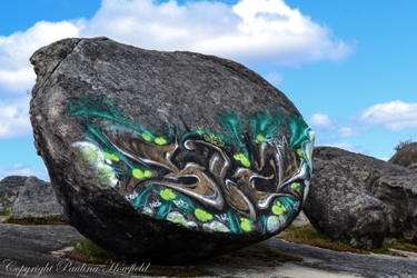 Graffiti at Boulder Rock