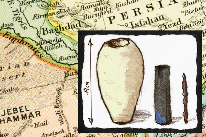 Baghdad-Battery an object out of time