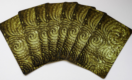 Tri-Spiral IMAGE from Newgrange the back image on the SOUL Whispers Cards