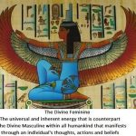Image of Isis as the Divine Feminine