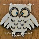 White Owl Magnet