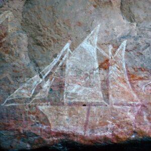 Petroglyphs at Kakadu image 2